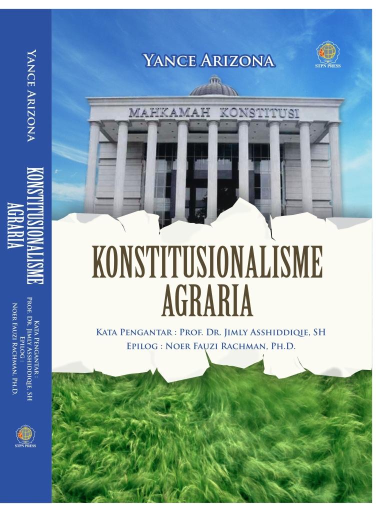 Cover Konstitusionalisme Agraria - Satu sisi